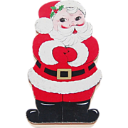 SALE See's Candy Shops ~ Christmas Santa Die-Cut Chocolate Box