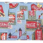 SALE 1980s Coca-Cola Standard Pillowcase Sham