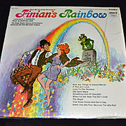 SALE 1960s Finian's Rainbow ~ Hit Songs LP Record