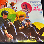 SALE 1966 Sergio Mendes & Brasil '66 ~ Look Around ~ LP Record