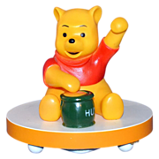SALE 1960/70s Disney ~ Musical Winnie the Pooh Lamp