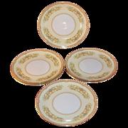 SALE 1930s Noritake China ~ Hermosa Pattern ~ Set of 6 Salad Plates
