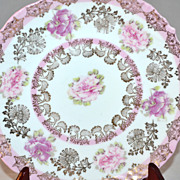 SALE Imperial Austria ~ Pink Cabbage Rose Salad Plate