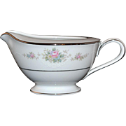 SALE Noritake Astor Rose White Porcelain Creamer