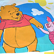 SALE Disney ~ Winnie the Pooh Twin Flat Sheet