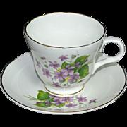 SALE Crown Trent ~ Fine Bone China Teacup & Saucer