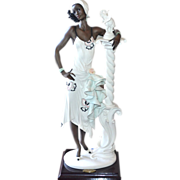 SALE Giuseppe Armani 'Mahogany' Ceramic Sculpture ~ Italy