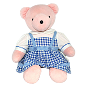 SALE 1993 Judy Bearland ~ Wizard of Oz 'Dorothy' Pink Plush Bear