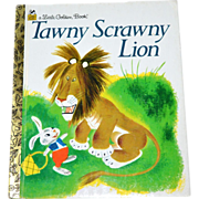 SALE Tawny Scrawny Lion ~ A Little Golden Book