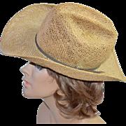 SALE Bailey U-Rollit ~ Western Straw Cowboy Hat