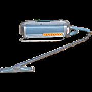 SALE 1952 Electrolux Model LX ~ Atomic Blue Canister Vacuum w/ Suction Nozzle & Hose