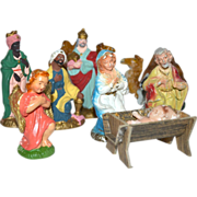 SALE 13-Pc Christmas Nativity Set