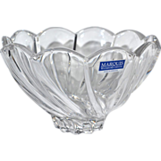 SALE Marquis by Waterford Crystal Scalloped Art Bowl