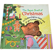 SALE 1970 The Sweet Smell of Christmas Hardcover Book