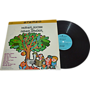 SALE 1965 Mother Goose and Father Gander LP Record Album