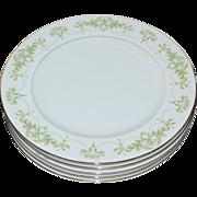 SALE Fine China of Japan Granada Set of 5 Dinner Plates