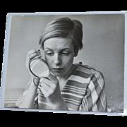 SALE Twiggy 'The Face of 1966' Lesley Lawson Rare Candid Shot 8x10 Original Photograph