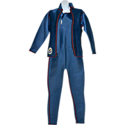 SALE Rare New Old Stock Dolphin 2-Pc Scuba Diving Wet Suit by Waterworks Marine USA