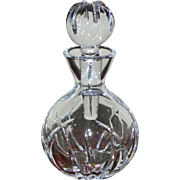SOLD Marquis by Waterford Crystal Glass Perfume Bottle w/ Dauber