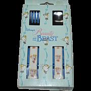 SALE Walt Disney 'Beauty and the Beast' Child's Fork & Spoon Set