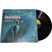 SALE 1970 Walt Disney Mickey Mouse FANTASIA LP Record
