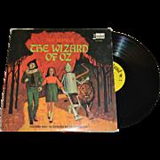 SALE 1969 Disneyland The Wizard of Oz LP Record