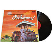 SALE 1955 Rodgers and Hammerstein's OKLAHOMA! LP Record w/ Foldout History