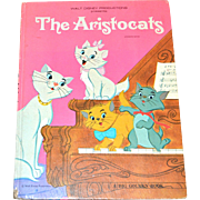 SOLD 1970 Walt Disney THE ARISTOCATS Big Golden Book ~ Hardcover First Edition