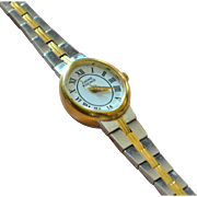 SALE Anne Klein II Ladies Two-tone Silver/Goldtone Watch