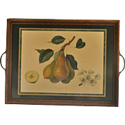 SALE Pimpernel England 'Jargonelle Pear' Royal Horticultural Society Decorative Wood Tray