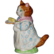 Beatrix Potter's Mrs. Ribby, Figurine by Beswick