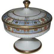 RC Nippon Hand Painted Porcelain Dresser Box for Rings or Trinkets