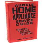 REDUCED 1954 Audels Home Appliance Service Repair Guide