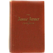 1896 Fannie Farmer Cookbook 11th Edition Printed 1965