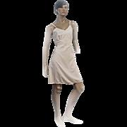 REDUCED 1950s Laros Full Slip Ladies Pale Pink Nylon Dacron Cordura Size 36