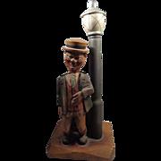 SALE Anri Drunk Lamp Post Musical Cork Screw Bottle Opener