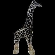 Abraham Palatnik Lucite Acrylic Op Art Giraffe