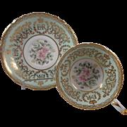 Paragon Queen Elizabeth Coronation Cup & Saucer Double Warrant Stamp