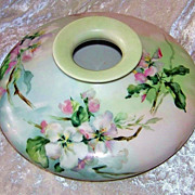 """SALE Outstanding Vintage 1900's Limoges France """"White Crab Apple Blossom"""" 10"""" S"""