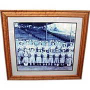SOLD Wonderful Large Baseball Photo of the 1940's Rockford Peaches Inspired By the Movie ""