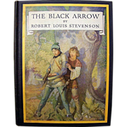 """Outstanding Robert Louis Stevenson Classic """"The Black Arrow"""" American Edition by Scr"""