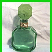 Czech Hoffman Nude Bubbles Green Perfume Bottle
