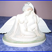 Deco Royal Copenhagen Leda and the Swan Figurine