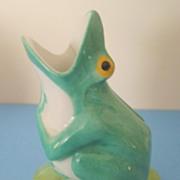 Art Deco Sandoz Haviland Limoges Frog  Flower Bud Vase