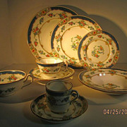 Set of 12 Minton ISIS Pattern Full Service China Set
