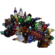 Vintage June Blaker Chicago Glass Bead Bracelet