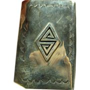 Southwestern Sterling Silver Card Case
