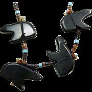 Black Bear Fetish Necklace