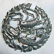 SALE Sterling Silver Scorpio Broach by Sellon