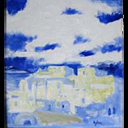 Warren (John Warren) Hunter (Born 1934) American Modernist, Taos, NM